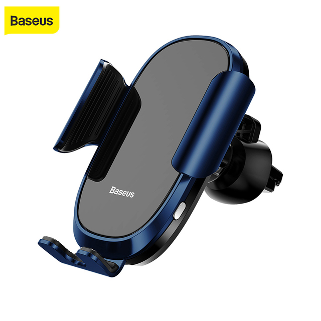 Baseus Fully automatic Car Phone Holder Intelligent Sensing Air Vent Mobile Phone Stand For iPhone X XS Max XR Samsung Gravity