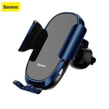 Baseus Voll automatische Auto Telefon Halter Intelligent Sensing Air Vent Handy Stehen Für iPhone X XS Max XR Samsung schwerkraft