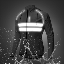 Windproof Hooded Cycling Jacket Breathable High Visibility Reflective Men Bike Bicycle Riding Sports Coat Jacket authentic nike men s kobe blazer sport knit breathable jacket hooded coat grey green
