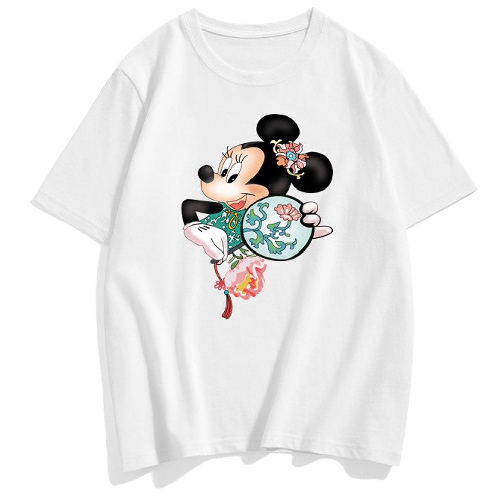 Disney M/ädchen T-Shirt Minnie Mouse