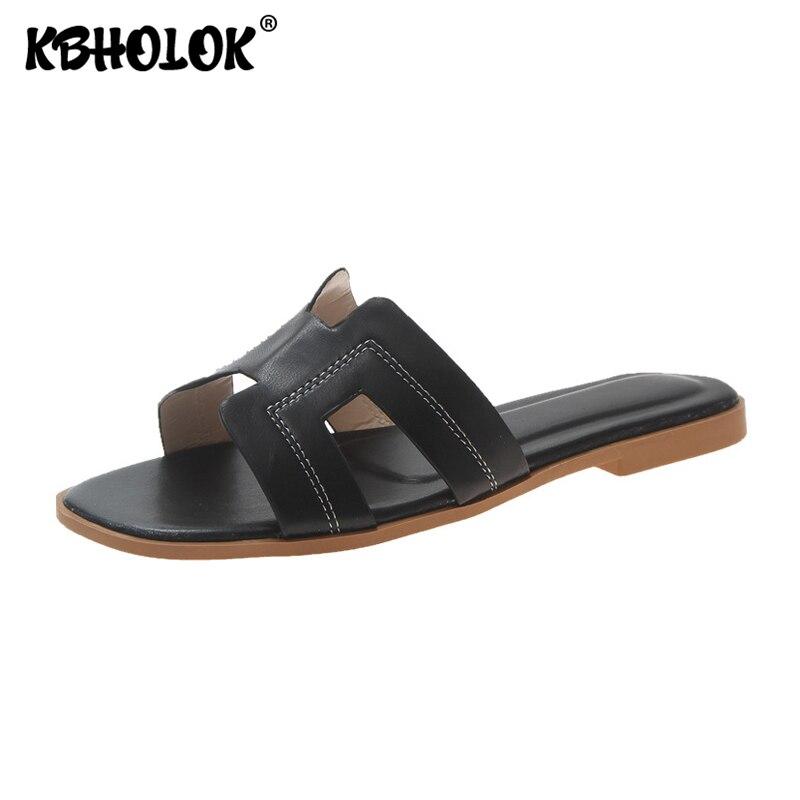 Slippers Women Shoes H Slipper Slide 2020 New Flip Flops Slides Woman Slippers Female Shoes Outside Flat Summer Women's Shoes