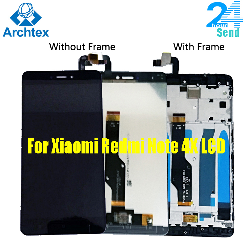 AAA+ Quality For <font><b>Xiaomi</b></font> <font><b>Redmi</b></font> <font><b>Note</b></font> <font><b>4X</b></font> <font><b>LCD</b></font> <font><b>Display</b></font> Screen Global Version <font><b>LCD</b></font> Only For Snapdragon 625 Frame with Free Tools image