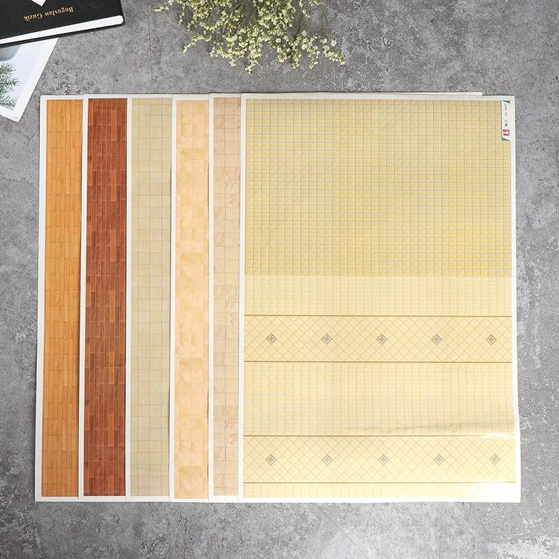 Maison de Poupées Papier Peint échelle 1//12th 1//24th Rose Papier de Qualité #105