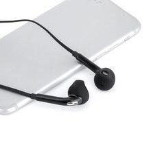 Auriculares internos con cable y micrófono, cascos con cable de 3,5mm, estéreo y control de volumen
