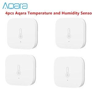 Bundle Sale Aqara Temperature Humidity Sensor Environment Air Pressure for Mijia Smart Home Zigbee Wireless Control(China)