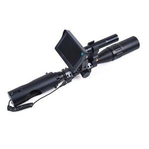 Image 5 - Nachtsicht Zielfernrohr Jagd Scopes Anblick Kamera Infrarot LED IR Klare Vision Umfang Gerät für Gewehr Nacht Jagd