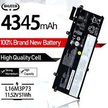 Bateria Do Portátil 11.52V 51Wh L18L3P73 Para Lenovo ThinkPad T490 T495 P43s L18M3P72 L18L3P73 02DL007 L18C3P72 SB10T83122 5B10W13877