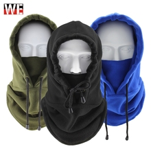 Free Shipping Motorcycle Face Mask Winter Balaclava Shield Thermal Fleece Windproof Warm Cycling Skiing Headwear Scarf