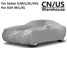Universals Car Automobile Sedan SUV Full Car Cover Coat Protector SUN UV Snow Resistant Dust Proof Outdoor Indoor Cars Covers
