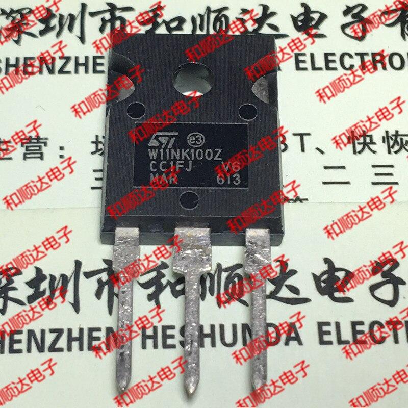 10PCS W11NK100Z STW11NK100Z TO-247