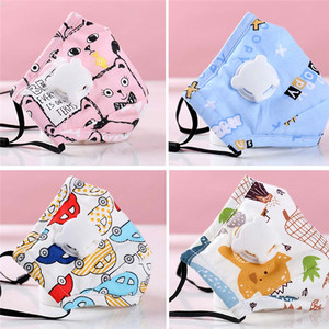 Image 3 - Lovely PM2.5 Washable Mouth Mask With Valve Kids Children Anti Haze Dust Mask Nose Filter Face Muffle Flu Respirator