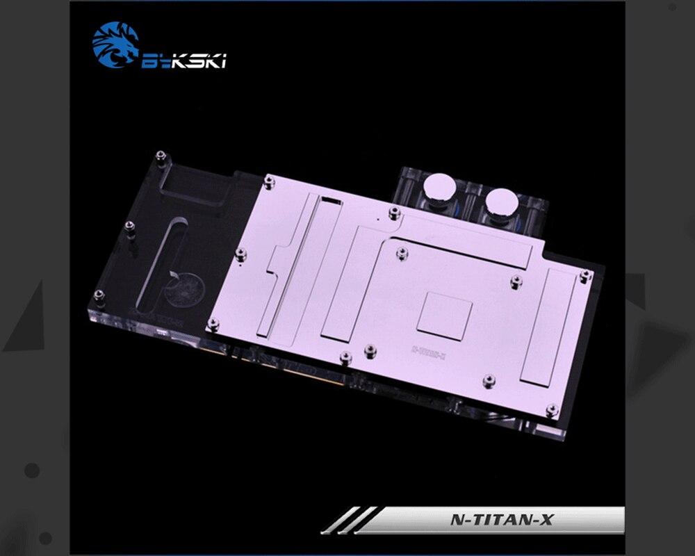 Bykski N-TITAN-X, полное покрытие видеокарты блок водяного охлаждения RGB/RBW для основателя издание все серии GTXTitan X/GTX980Ti X