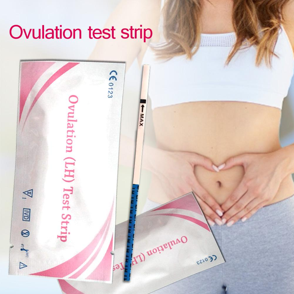 family doctor PH Early Pregnancy Test StripFertility Kit Stick For Urine Test Measure Pregnancy Female Pregnancy Rapid Test Pa image