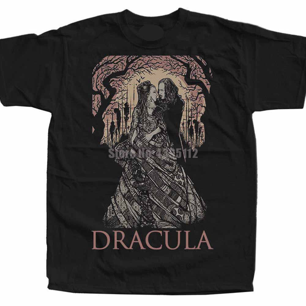 Dracula Christopher Lee Movie Poster Men'S Funny T Shirts Hip Hop Streetwear T Shirt Homme Humour Tee Shirt Short Sleeves