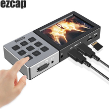 Ezcap 273 273A Hd 1080P 60fps Av Of Hdmi Video Capture Card Game Recorder Opname Doos Met Lcd Afspelen player Mic Ingang Audio