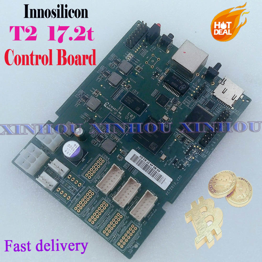 Bitcoin Mining Innosilicon T2 Data Circuit Board Control Board Motherboard Replace For Bad Asic Miner Innosilicon T2 17.2t Part