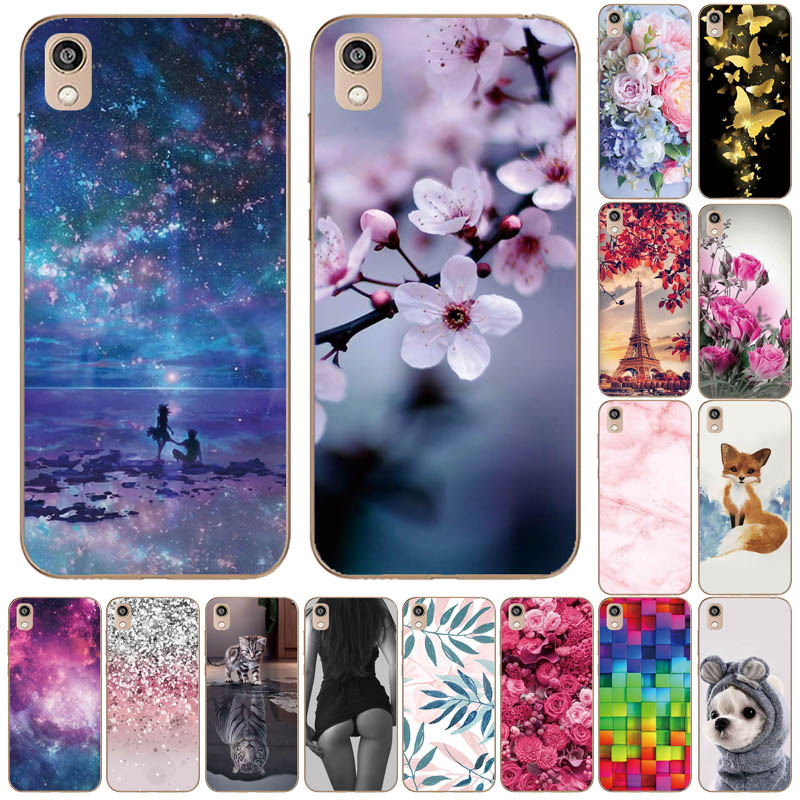 Silicone Case On Honor 8S Case Soft TPU Phone Case For Huawei Honor 8S KSE-LX9 Honor8S 8 S Case Back Cover 5.71'' Coque Bumper