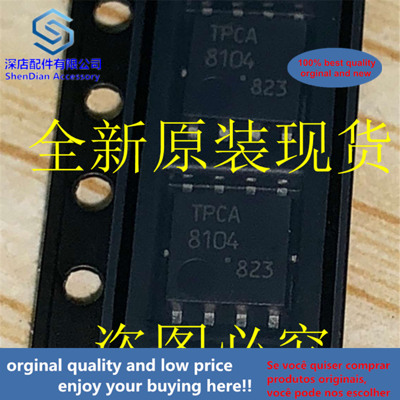 5pcs 100% Orginal And New TPCA8104 TOSHIBA QFN8 DFN8 QFN DFN Best Qualtiy