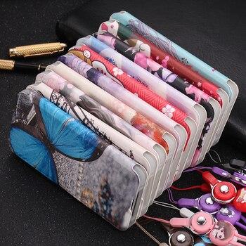 Перейти на Алиэкспресс и купить Милый раскрашенный флип-кошелек с подставкой кожаный чехол для VIVO V17 Pro V17 NEO Y17 Pro чехол с держателем карты и ремешком
