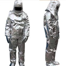 Uniform Firefighter Heat-Resistant Aluminized-Suit Thermal-Radiation 500-Degree High-Quality