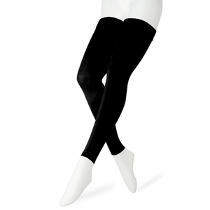 Image 2 - 20 30 mmHg Thigh High Medical Compression Stockings For Womens Mens Support Varicose Veins Travel Flight Anti Fatigue