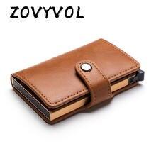 Повседневный защитный смарт кошелек zovyvol из искусственной