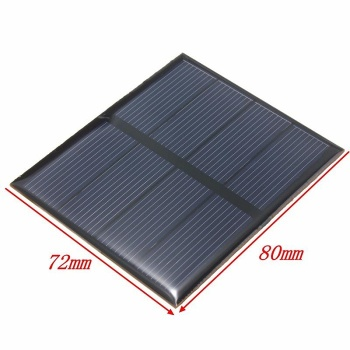2V 0.6W Polycrystalline Epoxy Solar Panel Mini Solar Cells DIY Solar Module Stored Epoxy 82*70*3MM 30pcs/lot Wholesale