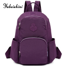 Women Backpacks nylon Travel backpack female Brand school bag Sac A Dos Shoulder Bag Mochila Feminina backpacks for teens