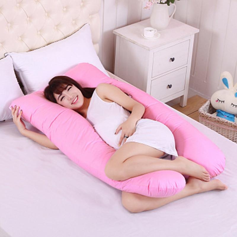 Pregnant Women Nursing Pillows Pregnant Mommy Body Sleeping Cushion Pillowcase U Shape Maternity Pillows Pregnancy Side Sleepers
