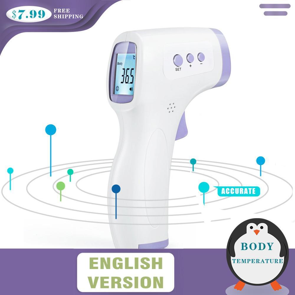 Многофункциональный инфракрасный термометр бесконтактный клинический термометр лоб человеческого тела ребенка бытовой цифровой измерительный инструмент