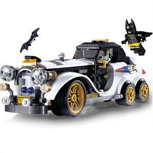 305pcs Lepining Batman Building Blocks Toy Kit DIY Educational Children Christmas Birthday Gifts(China)