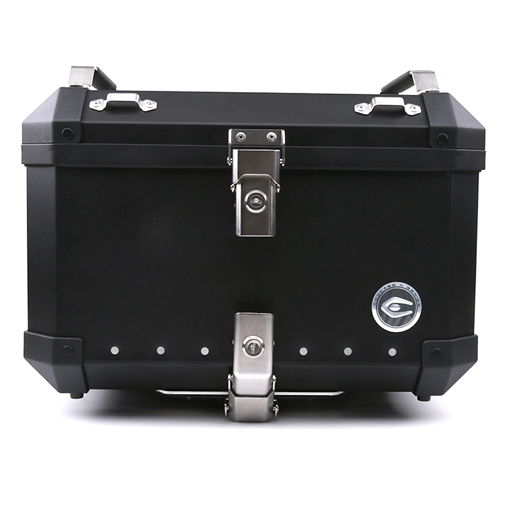SMOK Universal Trunk Super Large Aluminum Alloy Modified Rear Trunk Motorcycle Trunk Storage Box Removable Luggage 34L 40L 60L