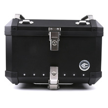SMOK Universal Trunk Super Large Aluminum Alloy Modified Rear Motorcycle Storage Box Removable Luggage 34L 40L 60L