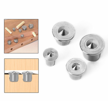 4pcs Panel Furniture Positioning Carpentry Log Dowel Tips Round Marker Locator Pin DIY Wooden Pin Center Punching Accessories