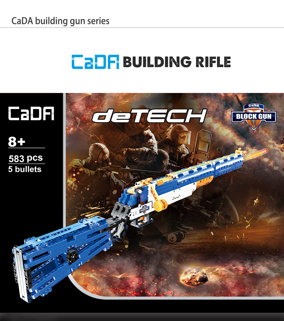brinquedos armas bluiding arma modelo calibre m1