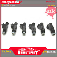 6 pieces x FOR UPGRADE OEM 4 hole Fuel Injectors for BMW (increase HP and MPG) NEW 0280155884
