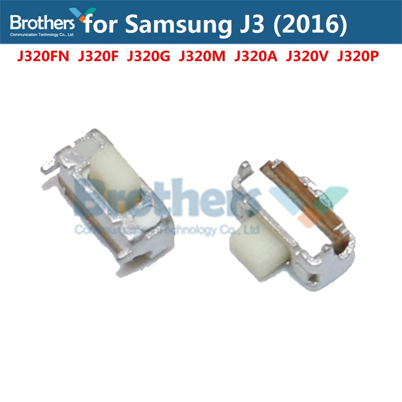 For Samsung Galaxy J3 2016 J320 Power Flex Cable On Off Flex Cable For Samsung J320FN J320F J320G Power Button Flex Phonet Parts