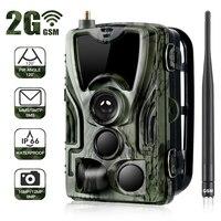 Охотничья тропа камера HC-801M 2G SMS MMS фото ловушки дикий охотник игра призрак олень корма Охота Chasse Скаут инфракрасный therma