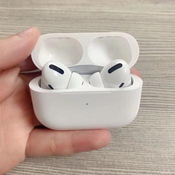 Nowe słuchawki airpoddings 2 Pro 3 bezprzewodowe słuchawki Bluetooth aktywne usuwanie szumów z etui do ładowania iphone #8217 a tanie i dobre opinie FANHUN douszne NONE Dynamiczny CN (pochodzenie) Prawdziwie bezprzewodowe