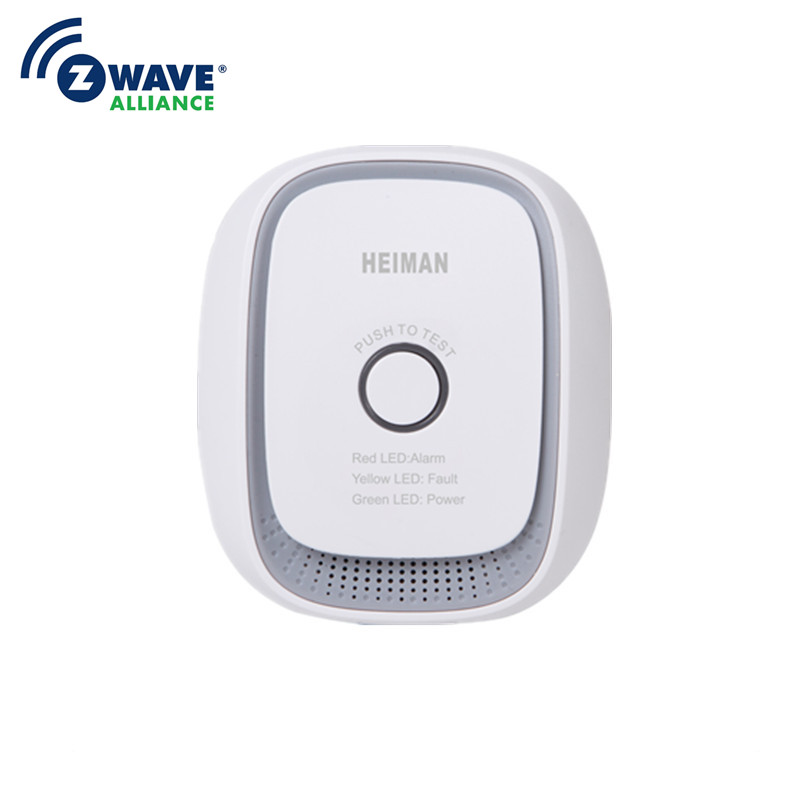 Haozee Wireless Zwave Combusitible Gas Leakage Detector Smart Home EU Version 868.42mhz Natural Gas Coal Gas Sensor