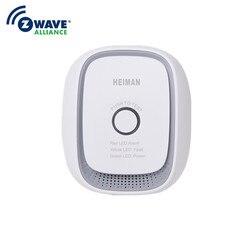 Haozee Wireless Zwave Video-gegensprechhaussicherheitssystem Combusitible Gas Leckage Detektor Smart Home EU Version 868.42mhz Natürliche Gas Kohle Gas Sensor
