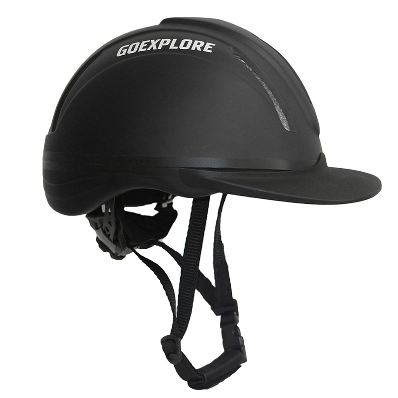 Horse Riding Equipment Safety Helmet Child Adult Professional Breathable Durable Cap Equestrian Racing Head Protection Hat