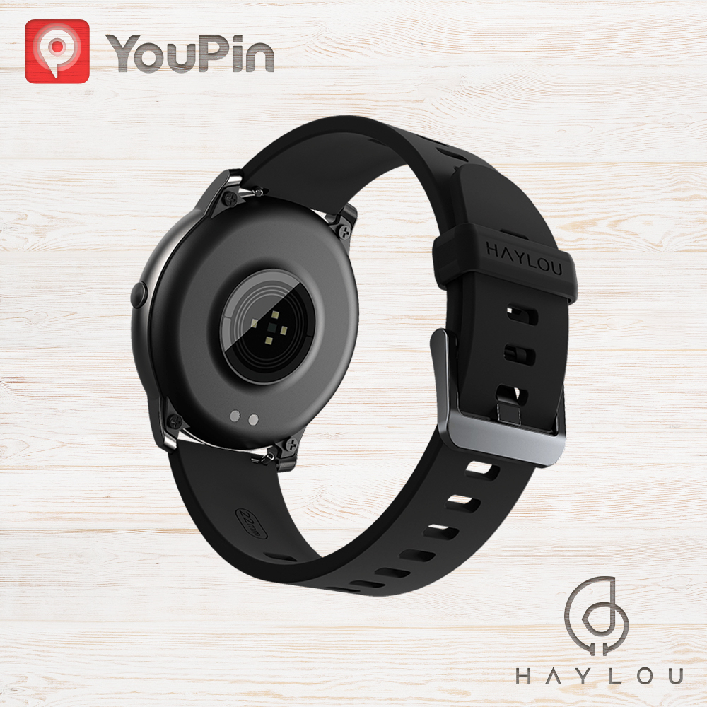 Haylou Solar LS05 Smart Watch Sport Metal Heart Rate Sleep Monitor IP68 Waterproof iOS Android Global Version for Xiaomi YouPin 2