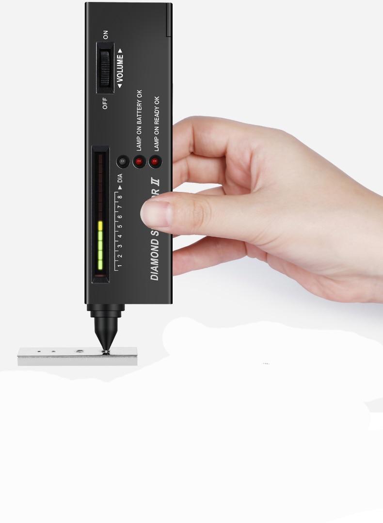Hot mini light diamond detector/tester , gold diamond detect…
