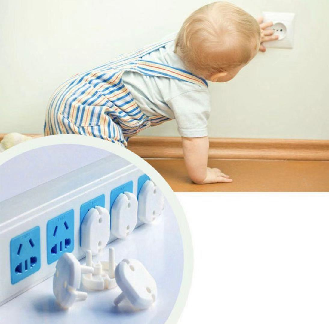 16Pc/Set Electrical Accessories Home Improvement Baby Safety Protector Power Socket Plug Cover