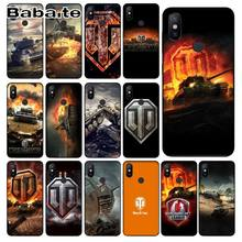 world of tanks Custom Photo Soft Phone cover Case For redmi 7 5plus 5A 6pro 4 note5A note6pro note7 Mobile Cover(China)