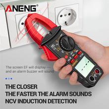 ST180 Digital Clamp Meter DC/AC Current 4000 Counts Multimeter Ammeter Voltage Tester Car Amp Hz Capacitance NCV Ohm Test