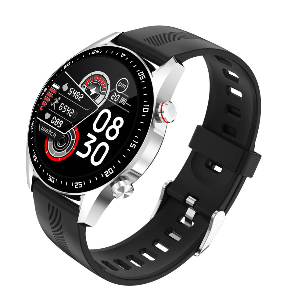 H219144f9f59041bba2573e62995ceb2cW E1-2 Smart Watch Men Bluetooth Call Custom Dial Full Touch Screen Waterproof Smartwatch For Android IOS Sports Fitness Tracker