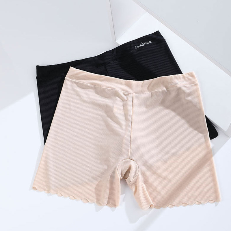 Купить женские шорты безопасности штаны бесшовные размера плюс женские