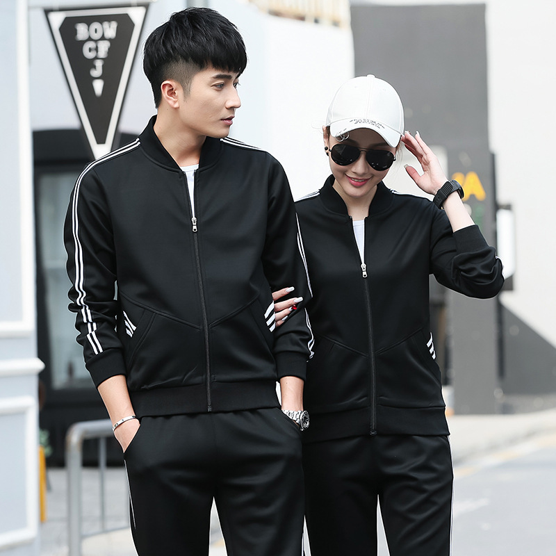 New Style School Uniform Activity University Joint Spring And Autumn Secondary School No Service Physical Education Adult Set Cu